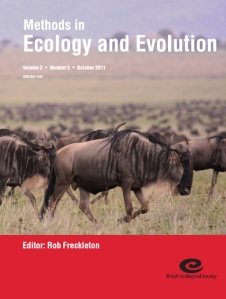 Wildebeast graze on the cover of MEE 2.5