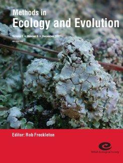 A lichen crust community