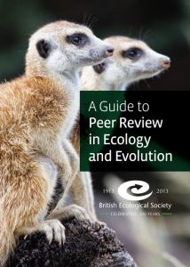 The BES Guide to Peer Review in Ecology and Evolution