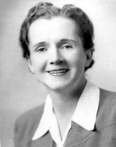 Rachel Carson (1940) Fish & Wildlife Service employee photo.