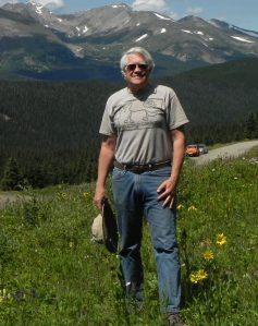 Robert Colwell at the Boreas Pass in Colorado, USA