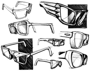Glasses come in very different frames. They all function in the same way. Frames are just for the style. © Patrick Murphy