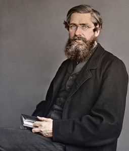 The namesake of our software and founder of the field of biogeography, Alfred Russel Wallace. Photo ©G. W. Beccaloni