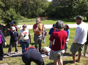 Public programs like this one on ant identification at the Harris Center for Conservation Education bring natural history and ecology to new audiences. ©Joel Haberman (CC-BY-NC)