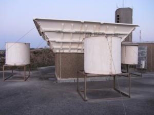Radar Wind Profiler from the Basque Meteorology Agency (Euskalmet) at Punta Galea, Bilbao, Spain. ©N. Weisshaupt