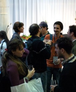 Networking is much easier at small conferences.