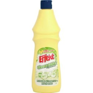 A bottle of cleaning fluid. Not JIF